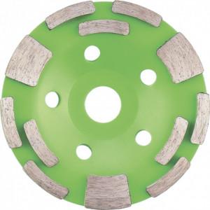 Disc diamantat pentru slefuit, 125 mm, combinata // SibrTech
