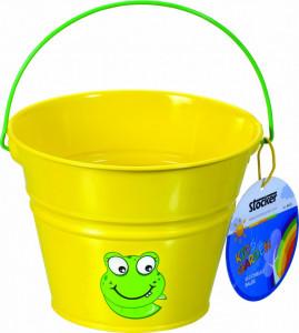 Galetuta din metal pentru copii KIDS GARDEN - culoare galbena, Stoker