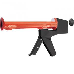 "Pistol pentru silicon, 310 ml, tip ""semideschis"", balansat, tija rotunda 6 mm// MTX MASTER"