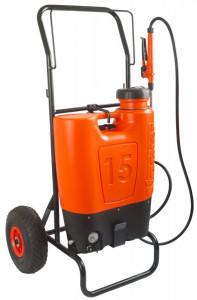 Pompa tip rucsac ELECTRO 15 litri, Li-ION cu carucior, Stoker