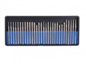 Set 30 pile diamantate pentru minipolizor drept, cutie din plastic, Raider Power Tools