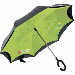 Umbrela cu strangere inversa, maner ergonomic cu acoperire, Soft Touch // PALISAD