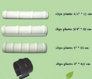 Clipsuri de plastic pentru fixarea foliei, Politiv