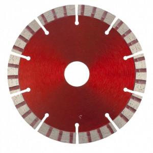 Disc diamant pentru taiere uscata, muchie TURBO-segmentat, 125 x 22.2 mm// MTX Profesional