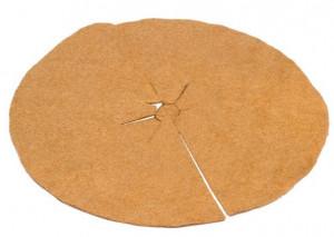 Disc din iuta pentru mulcire, Ø55 cm, 250 gr/m², Stoker