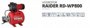 HYDROFOR RAIDER RD-WP800