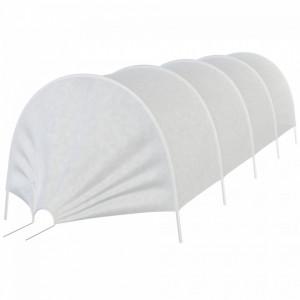 Mini solar tip Tunel, cadru plastic si folie acoperire, 500 x 100 x 50 cm, Palisad