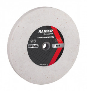 Piatra pentru polizor 200x20x16mm P60, Raider Power Tools