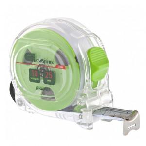 Ruleta Quartz, corp transparent, amortizor, 10m x 25mm// SIBRTEH