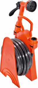 Set tambur pentru furtun MINI cu furtun 8 m - KIDS GARDEN, Stoker