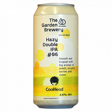 THE GARDEN / COOLHEAD - Hazy Double IPA #06