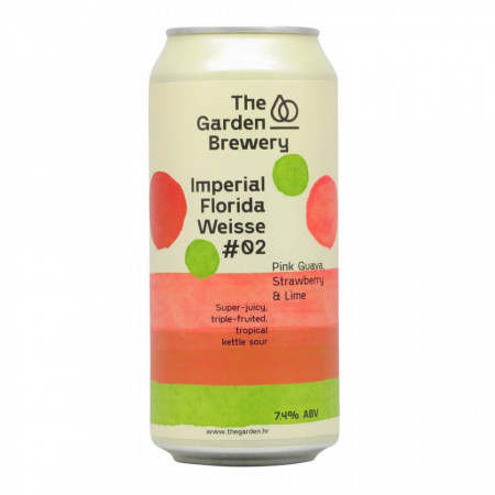 THE GARDEN - Imperial Florida Weisse #02 - Pink Guava, Strawberry & Lime