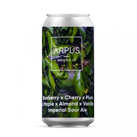 ARPUS - Blueberry x Cherry x Plum x Maple x Almond x Vanilla Imperial Sour Ale