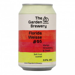 THE GARDEN - Florida Weisse #05 - Mango, Strawberry, Peach