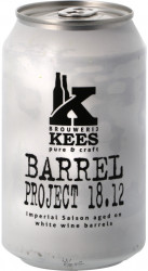 KEES - BARREL PROJECT 18.12 IMPERIAL SAISON AGED ON WHITE WINE BARRELS