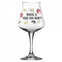 Where Is Your God Now Teku Glass