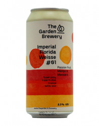 THE GARDEN - Imperial Florida Weisse #01 - Passion Fruit, Mango & Mandarin