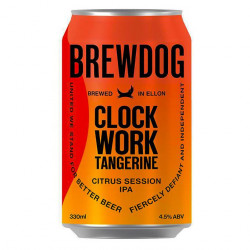 BREWDOG – CLOCKWORK TANGERINE