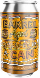 AMUNDSEN - BARREL AGED DESSERT IN A CAN TONKA & CARAMEL ICE CREAM