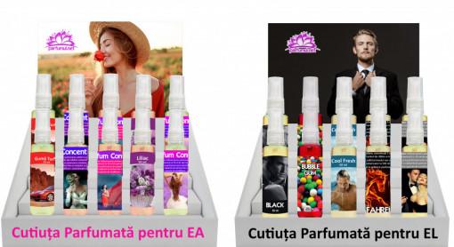 Cutiuța Parfumată - Esențe pe bază de ulei - Parfumuri luxuriante - Odorizante Auto