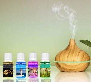 Set Difuzor Aromaterapie cu Ultrasunete + 4 Esențe