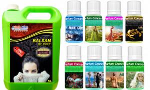Pachet Parfum Magic 8 Uleiuri de Parfum Solubile Diferite +5 L Balsam Profesional
