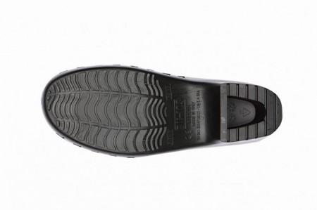 Saboti Calzuro Classic cu perforatii - Negru