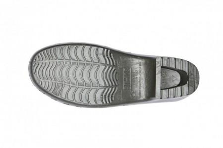 Saboti Calzuro Classic cu perforatii - Gri Metalizat