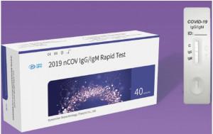 TEST RAPID COVID 19 IgG/IgM