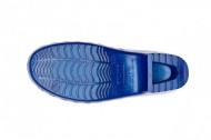 Saboti Calzuro Classic cu perforatii - Albastru Metalizat