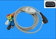 Cablu ECG pentru holter recorder DMS 300-4A/4L