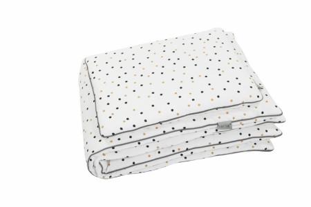 Lenjerie de pat pentru copii Tiny Star Confetti 100 x 75 cm
