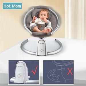 Leagan Copii electric Hot Mom Gri