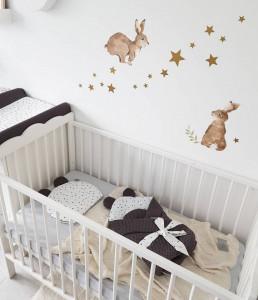 Tiny Star - Husa Pentru Salteaua De Infasat, Confetti, 50 cm x 70 cm