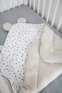 Tiny Star - Paturica de Infasat BabyHorn Sweet Confetti & Beige