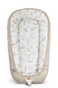 Babynest Grain & Ivory Cuib Pentru Bebelusi, Ajustabil, Portabil, Reductor Patut, Tiny Star