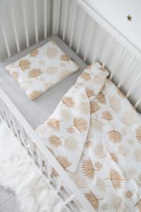 Lenjerie de pat pentru copii Tiny Star Boho 100 x 75 cm