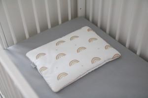 Lenjerie de pat pentru copii Tiny Star Rainbow 100 x 75 cm