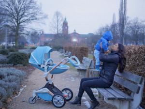 Carucior Copii Hot Mom 360 Blue 2 in 1, varsta intre 0 si 36 de luni, alegerea perfecta pentru voi: design modern, elegant si confortabil