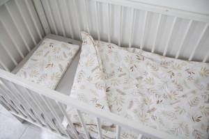 Lenjerie de pat pentru copii Tiny Star Grain 100 x 75 cm