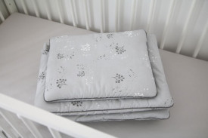 Lenjerie de pat pentru copii Tiny Star Mist 100 x 75 cm