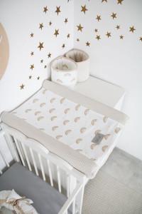 Tiny Star - Husa Pentru Salteaua De Infasat, Rainbow, 50 cm x 70 cm