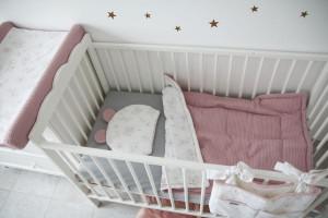 Tiny Star - Paturica Dubla din Bumbac cu Textura de Vafa Love & Rosy