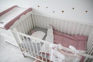 Tiny Star - Husa Pentru Salteaua De Infasat, Love, 50 cm x 70 cm