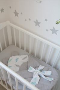 Babyhorn, paturica de infasat, Tiny Star Sweet Plumes