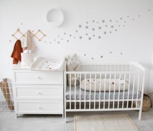 Stickere pentru perete, pentru camera copilului, Tiny Star Sylver