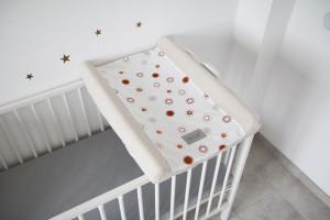 Tiny Star - Husa Pentru Salteaua De Infasat, Sunshine, 50 cm x 70 cm