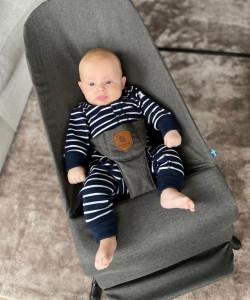 Balansoar pentru copii EcoViking Dark Grey Antracit