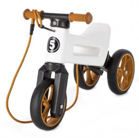 Bicicleta fara pedale Funny Wheels Rider SuperSport 2 in 1 Pearl