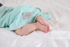 Tiny Star - Paturica din Bambus Mint